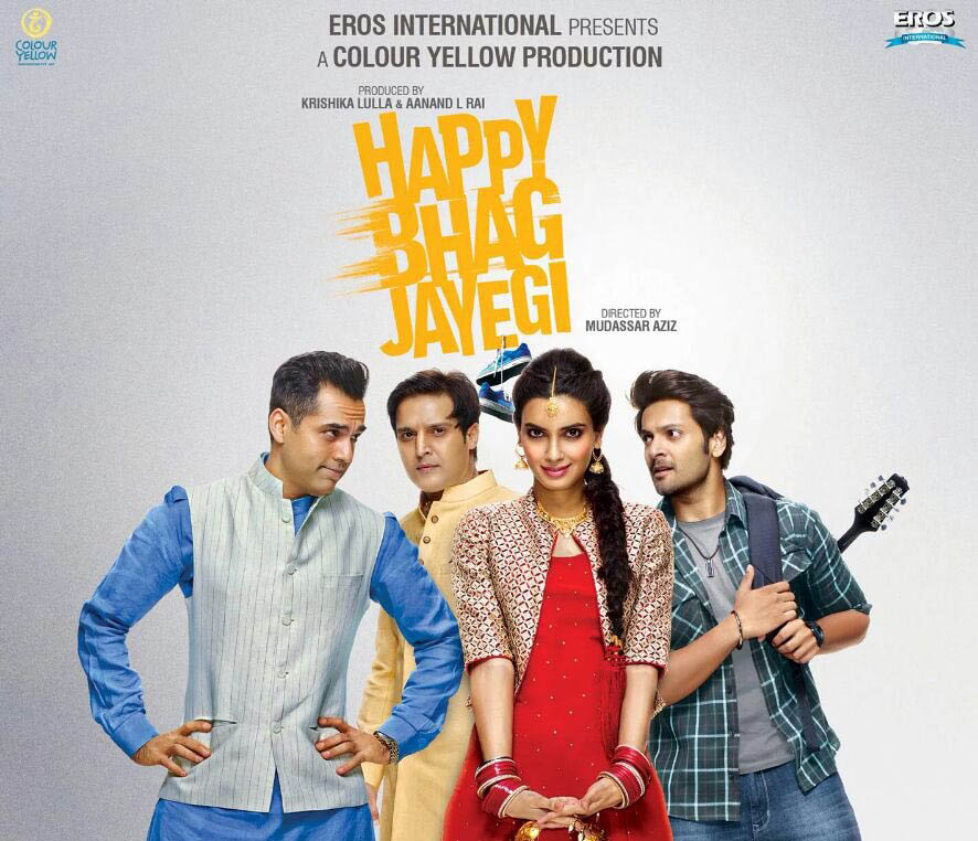 Happy-bhag-jayegi-posters