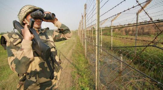 BSF patrolling in RS Pura