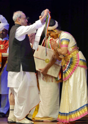 Pranab Mukherjee during the cultural programme
